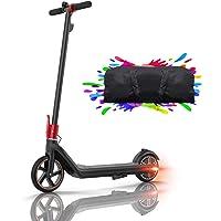 HUABANCHE Elektroroller Kinder E Scooter, 15 Km Reichweite Elektroscooter E Roller Kinderroller E Tretroller 150 W Motor…