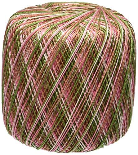 Tante Lydia au Crochet coton format classique 10-Rose Cameo