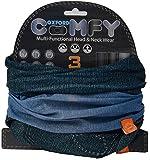 Oxford Jeans Comfy Neck Warmers (Pack of 3) - Grey Spot/Black/Denim Effect