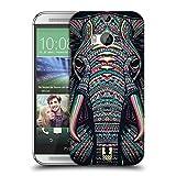 Head Case Designs Elefant Aztekische Tiergesichter 2 Ruckseite Hülle für HTC One M8 / M8 Dual Sim