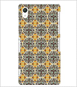 PrintDhaba Pattern D-5208 Back Case Cover for SONY XPERIA Z2 (Multi-Coloured)