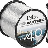 Fladen Vantage Pro - Rollo de cuerda monofilamento para carretes de pesca, extra fuerte (rojo)