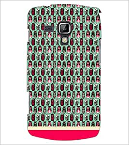 PrintDhaba Owl Pattern D-1686 Back Case Cover for SAMSUNG GALAXY S DUOS 2 S7582 (Multi-Coloured)