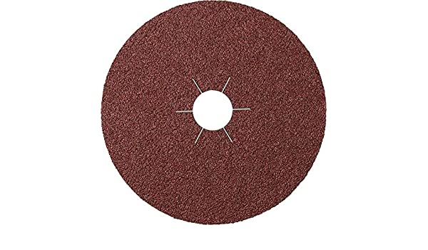 Klingspor CS 561 Fibre Discs 115 x 22 mm Grain 320 Star Hole Pack of 25