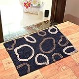 Generic Anti Slip and Water Absorbing Doormat (Black)