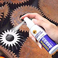 bingT Rust Remover Spray, High Performance,Rust Stain Remover for Metal Surface Metal Surface Chrome Paint Car Maintenance Iron Powder Cleaning Rust Remover, Multi-Purpose Rust Remover Rust Inhibitor