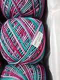 #4: Anchor Mercer Knitting Cotton Multicolour-Multicolour-405809504 - 50 g x 3