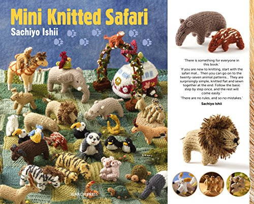Mini Knitted Safari (English Edition) (Sock Monkey Diy)