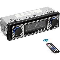 HERCHR classique USB voiture stéréo Bluetooth rétro mode Vintage autoradio lecteur MP3 AUX Audio