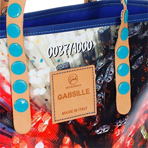 GABS - Gabsille, Borsa con Maniglia Donna Multicolor