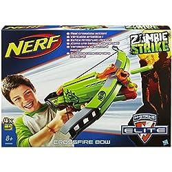 Nerf - A6558 - Jeu de Plein Air - Zombie Strike - Arbalète