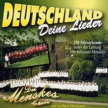 Deutschl&, Deine Lieder [Import anglais]