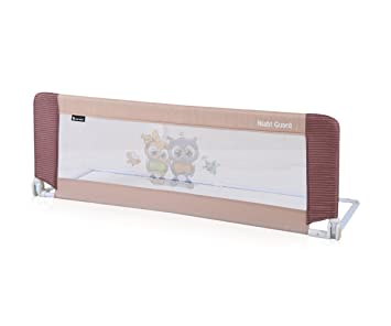 Bed Guard Folding Child Toddler Rail Safety Protection 2 Designs Beige Amazoncouk Baby