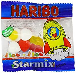 Haribo Starmix Candy 16g (Pack of 100)