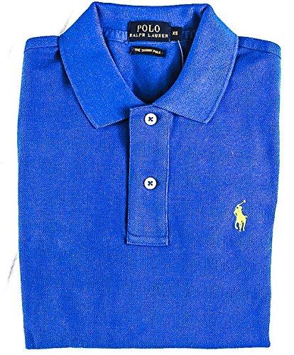 Ralph Lauren Damen Poloshirt Violett Fliederfarben Small Gr. XS, Königsblau