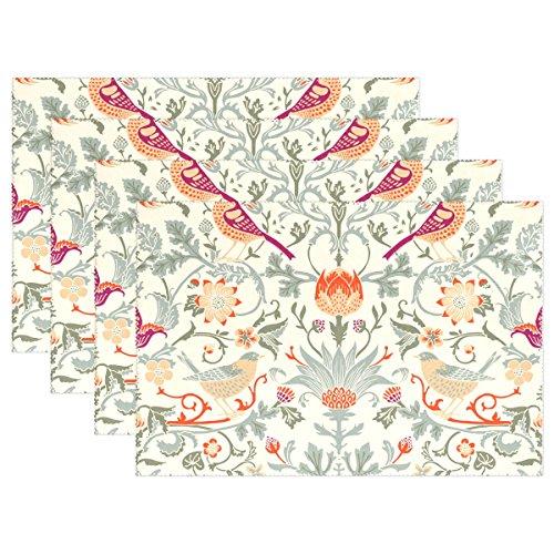 Baihuishop William Morris flores 12x 18