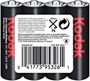 Kodak 30411708 Çinko Karbon Pil, Kırmızı
