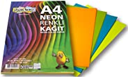 Renkli A4 Kağıdı - Neon Serisi