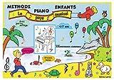 """METHODE PIANO ENFANTS avec partie solfège - """"Le pays musical"""" - 4/7 ans..."""