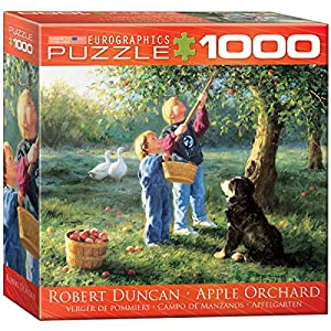 Puzzle 1000 Piezas Euro Gráficos - Duncan - Apple Orchard (8 x 8 Caja) (MO) - (EG80000727)