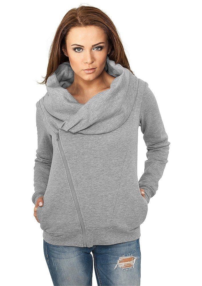 Urban Classics Ladies Winter Zip Hoody TB396 Sweatjacke  Damen Jacke