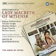 Shostakovich:Lady Macbeth of Mtsensk/Mstislav Rostropovich