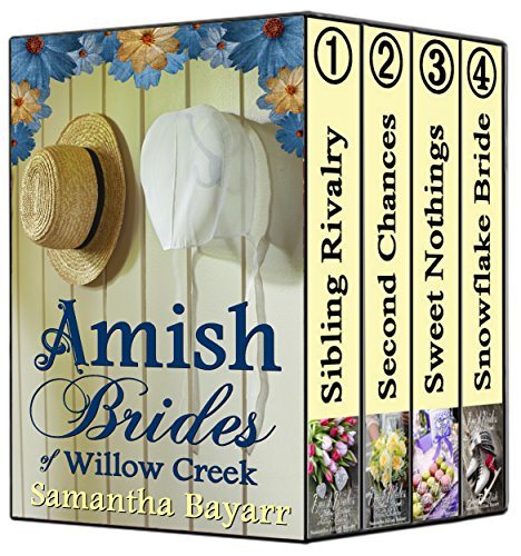 Amish Brides Of Willow Creek Amish Christian Romance Collection 4 Book Boxed Set