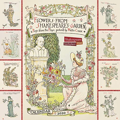 Shakespeare Birthplace Trust – Flowers from Shakespeare's Garden 2020 Calendar