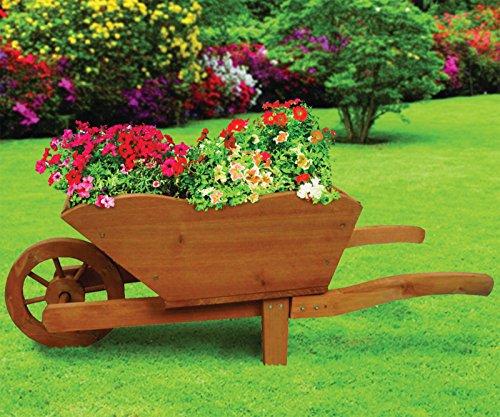 tradizionale-in-legno-naturale-vaso-a-carriola-giardino-piante-fiori-nuovo