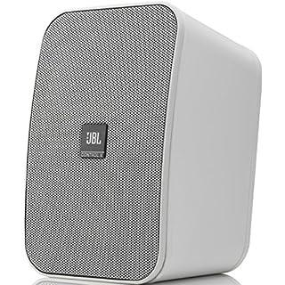 JBL Control X Lautsprecher (Wetterfeste, mit Wandhalterungen, 1 Paar) weiß