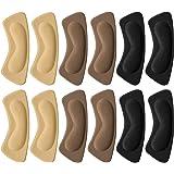 Tompig 6 Paia Tallone Cuscino,Cuscino del Tallone Pad Adesivi a Tacco, Scarpa Solette Protezioni del Tallone, Scarpa Grip Lin