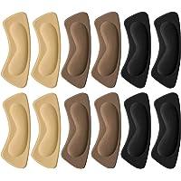 Tompig 6 Paia Tallone Cuscino,Cuscino del Tallone Pad Adesivi a Tacco, Scarpa Solette Protezioni del Tallone, Scarpa…