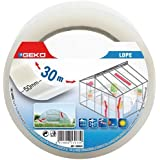 GEKO 18000/5 Adhésif de Réparation agricole 50mmx30m Transparent Neutre