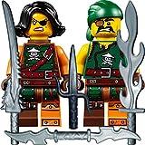 LEGO Ninjago Figurenset: Minifigur Cyren und Minifigur Sqiffy (Luftpiraten)