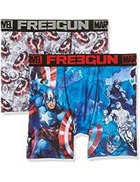 Freegun Marvel Packx2, Bóxer para Hombre