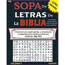 SOPA de LETRAS de la BIBLIA, Volúmen 1: Volume 1