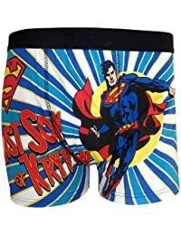 Superman - Boxer -  Homme Bleu Bleu