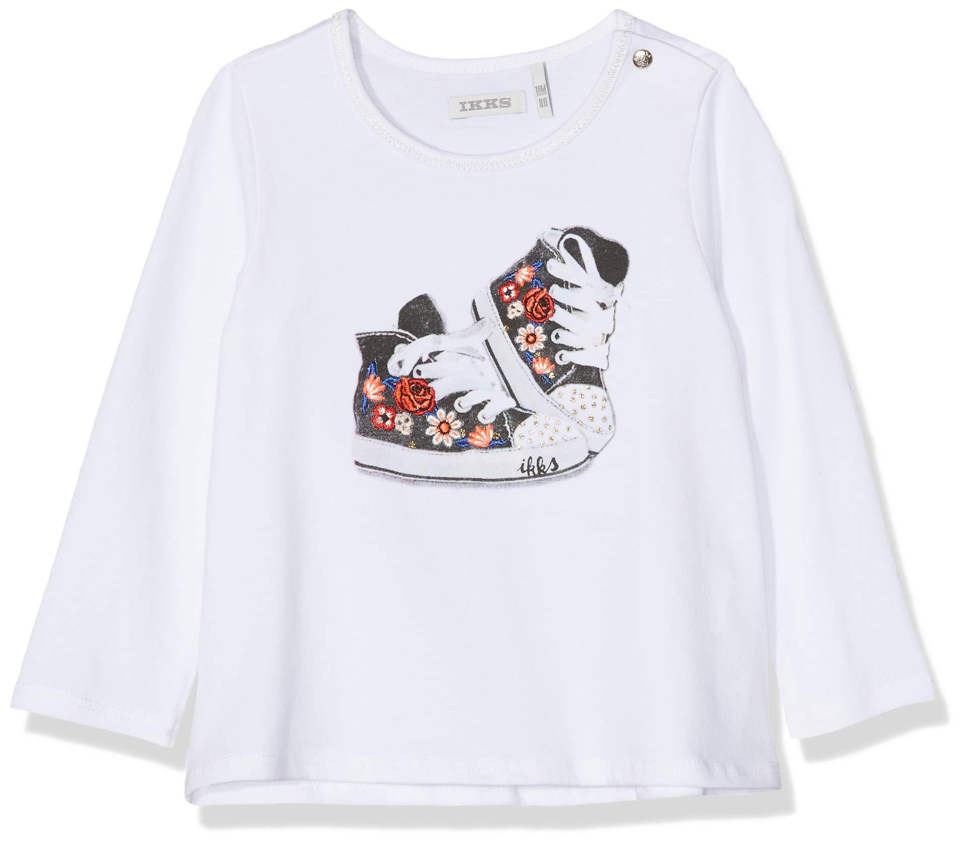 IKKS Junior tee Shirt Ml Basket Fleurie Camiseta para Bebés 1