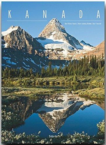 KANADA - Ein XXL-Premium****-Bildband im Supergroß-Format mit Schmuckschuber, 396 Seiten und über 570 Abbildungen - STÜRTZ Verlag