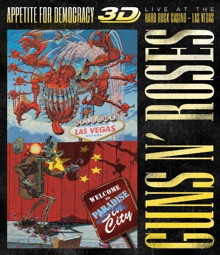 Appetite For Democracy [2 CD/Blu-ray/T-shirt Bundle] by Guns N' Roses