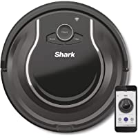 Shark ION Saugroboter [RV750EU], Exklusiv bei Amazon, Roboter Staubsauger, Teppiche und Hartböden, WLAN-App, Tierhaare