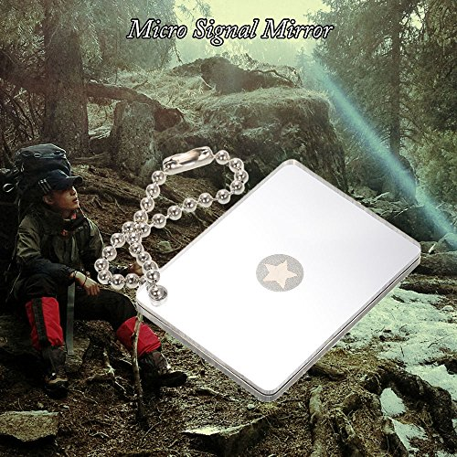 61nHutYq8cL. SS500  - Lixada Multifunctional Survival Emergency Rescue Singnal Mirror Signaling Device Outdoor Tool