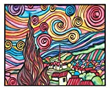 colorvelvet A3–Van Gogh Sternennacht Position, 47x 35cm