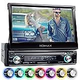 XOMAX XM-VRSU743BT Autoradio / Moniceiver + 18 cm / 7