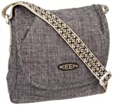Keen Emerson Cross Hatch Messenger Bag, damen, schwarz