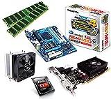 One PC Aufrüstkit | AMD FX-Series Bulldozer FX-8350, 8x 4.00GHz | montiertes Aufrüstset | Mainboard: Gigabyte GA-78LMT-USB3 | 16 GB RAM (2 x 8192 MB DDR3 Speicher 1600 MHz) | CPU Mainboard Bundle | Grafik: 2048 MB NVIDIA GeForce GT 610, DVI, HDMI | komplett fertig montiert!