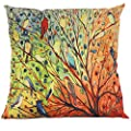 43 x 43CM Square Floral Decorative Throw Pillow Case Cushion Cover - low-cost UK light shop.