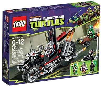 LEGO Tortugas Ninja - Moto Dragón de destructor (79101) por LEGO