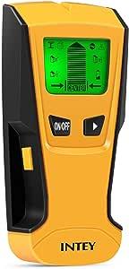 Intey Ortungsgerät 3 In1 Digitale Multidetektor Mit Lcd Display Und Signalton Für Metall Ac Draht Und Holz Baumarkt