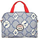 Blutsgeschwister Handtasche GLAUBE, LIEBE, HOFFNUNG Baumwolle blau Damen - 019976